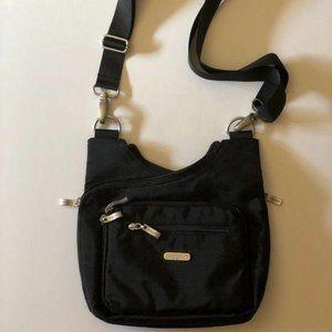 Baggallini Black Nylon Criss-Cross Bag